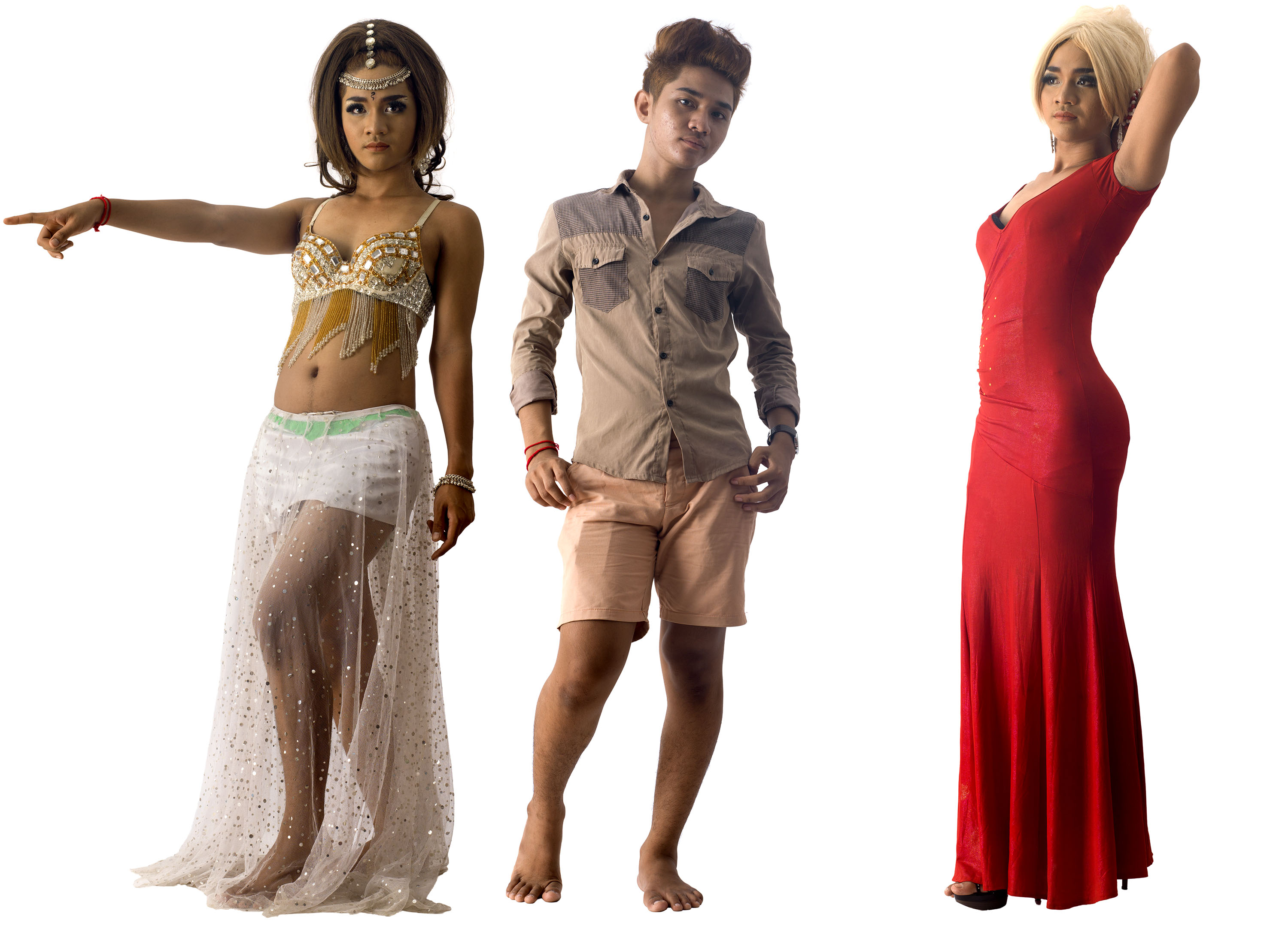 Drag in Cambodia: Chaii / Lucky by Martijn Crowe