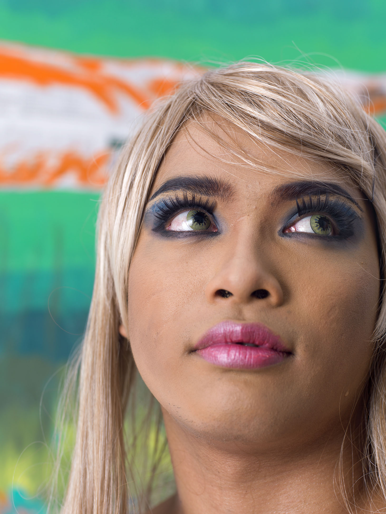 Drag in Cambodia: Darom portrait by Martijn Crowe