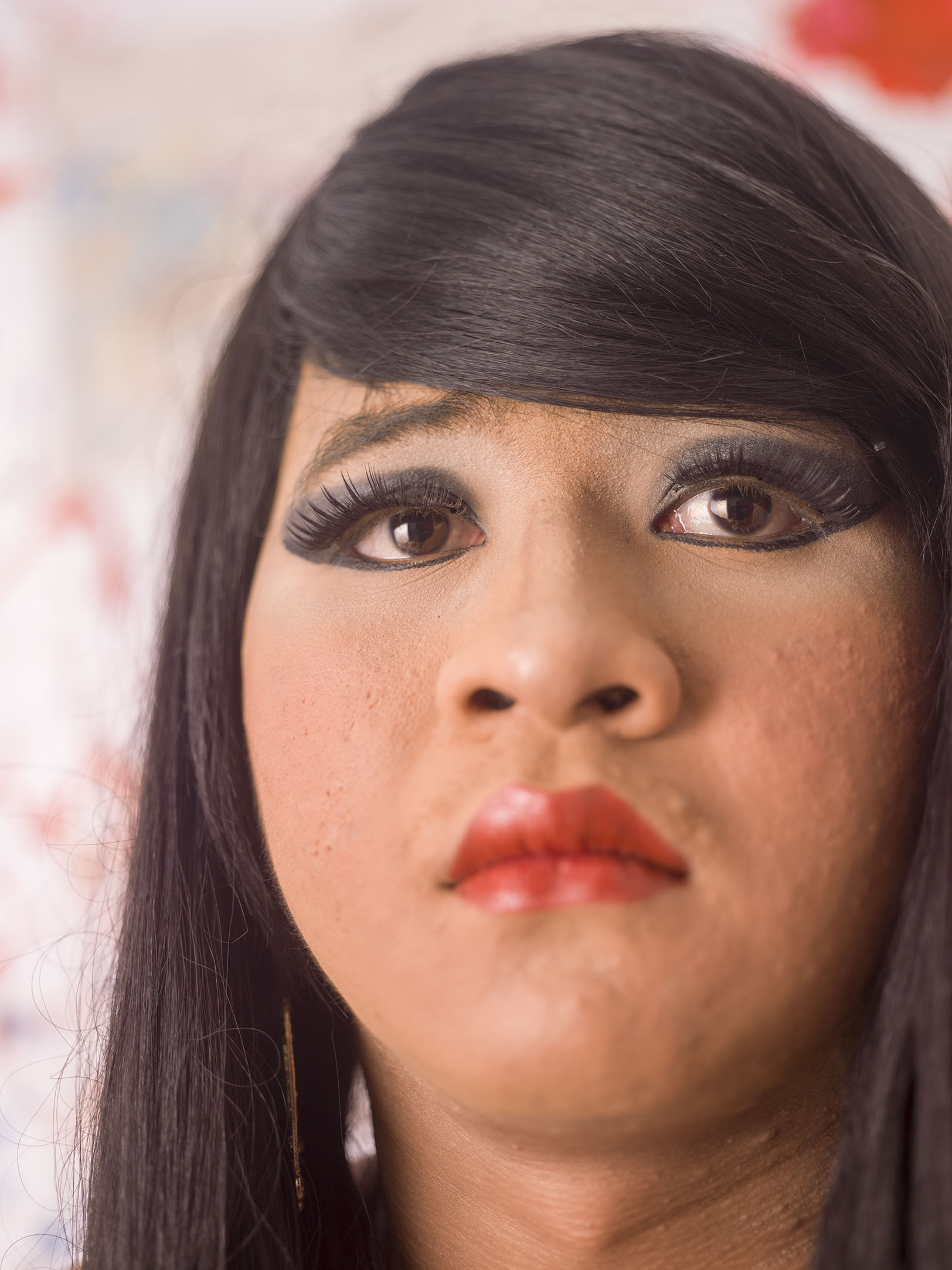 Drag in Cambodia: Tuy Suoy / Chhim Thi portrait	by Martijn Crowe