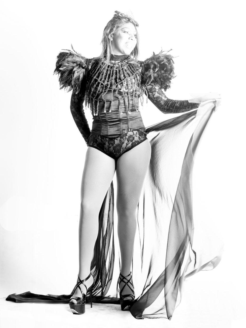 Bolivian drag queen