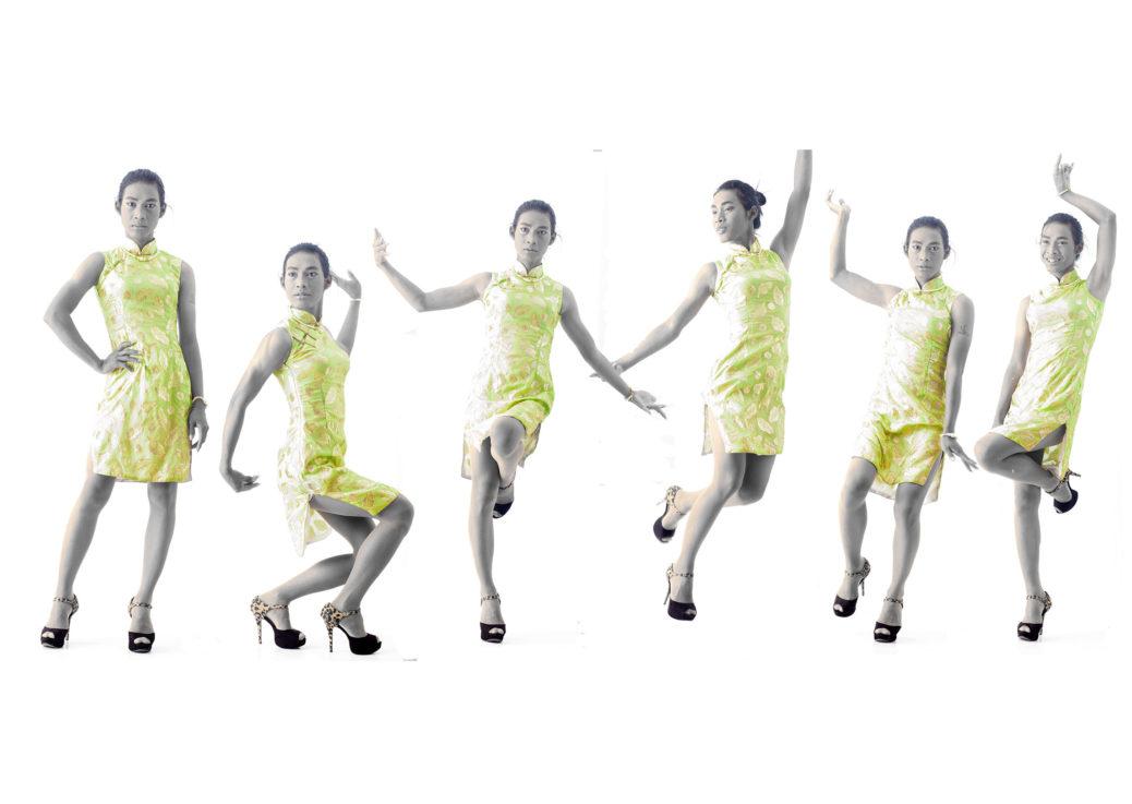Drag in Cambodia: Bourra Vong / Dara dancing