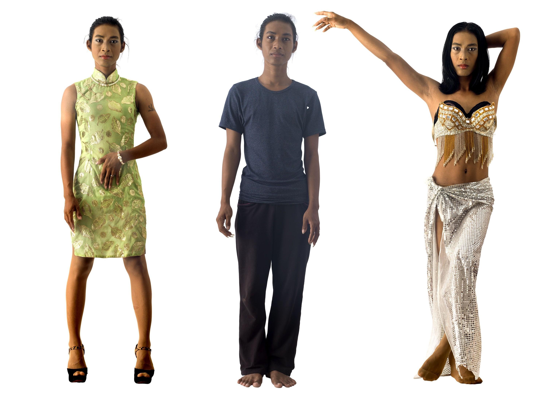 Drag in Cambodia: Bourra Vong / Dara - Dancing by Martijn Crowe